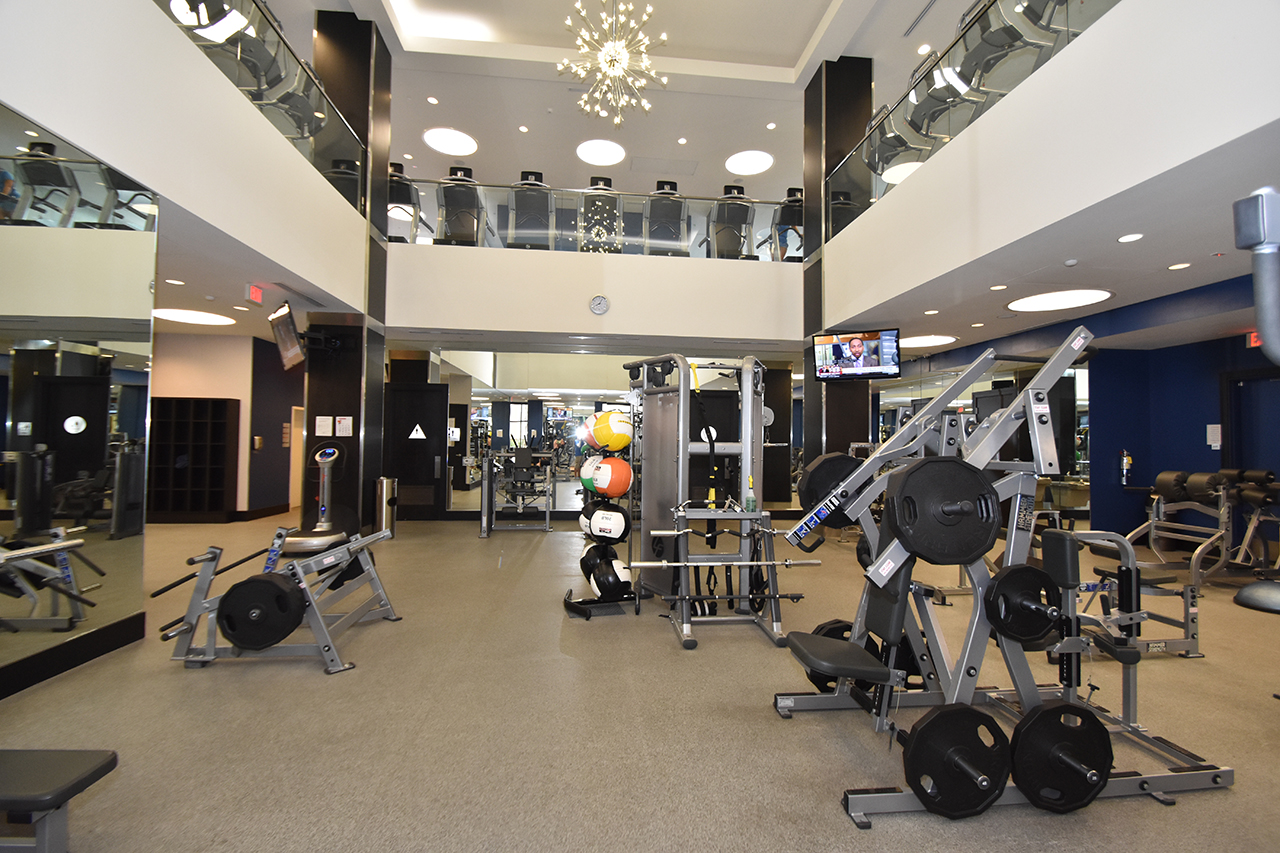 Lower-Level High Voltage Fitness Center